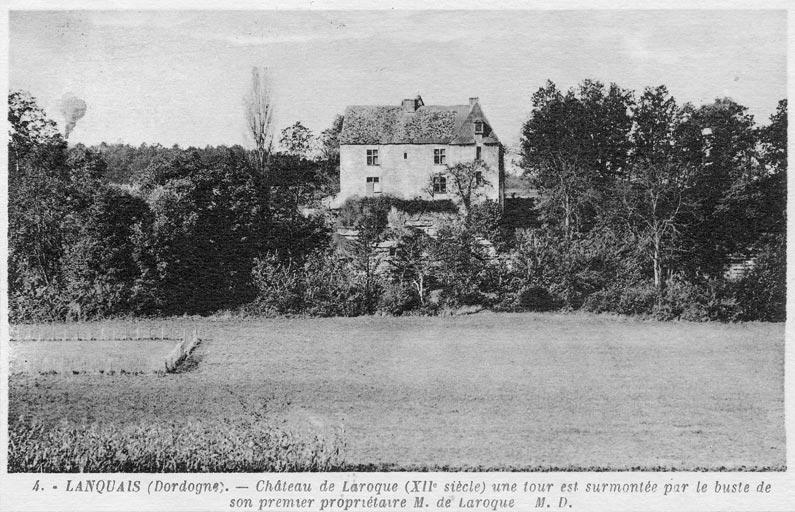 Château de Laroque (carte postale)