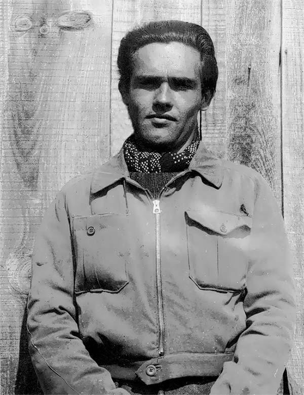 François Llambrich, incorporé au 652e GTE à Mauzac, 1942.