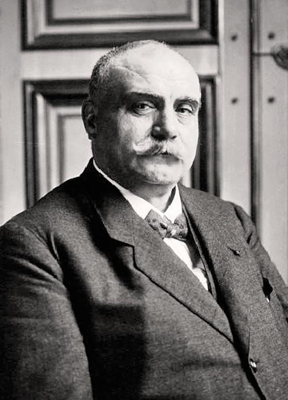 Photo d'Albert Claveille datant de 1917