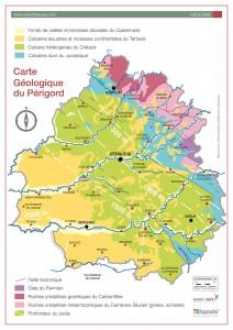 La géologie de Dordogne-Périgord