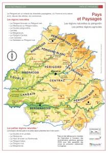 Les pays et paysages de Dordogne