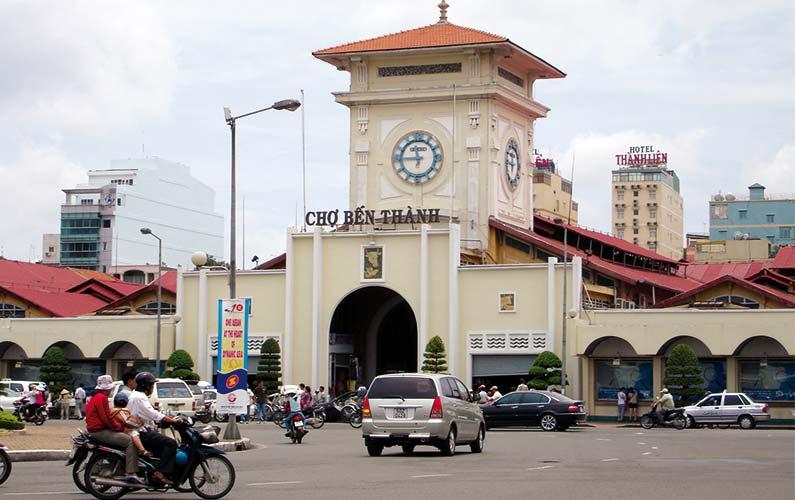 Saïgon : la ville moderne.