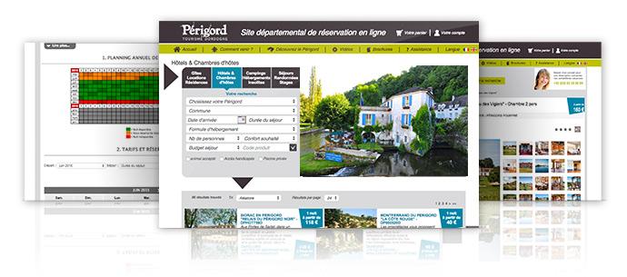 Réservez votre hotel sur le site de réservation en ligne Perigord Tourisme Dordogne