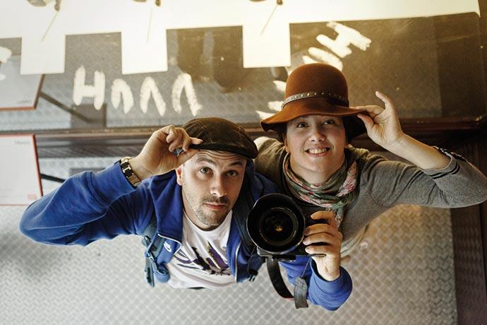 Loïc Mazalrey et Émilie Delpeyrat
