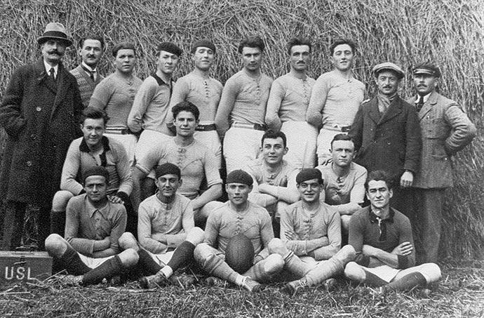 US Lalinde: équipe de rugby 1920