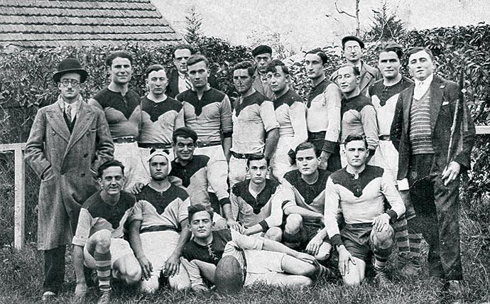 Équipe de rugby de Lalinde, saison 1933-1934
