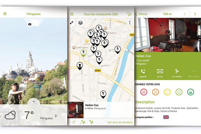 Une application pour votre smartphone dédiée à la découverte de Périgueux
