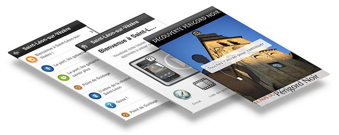 Izzyguide, l'audioguide pour visiter les sites majeurs du Périgord