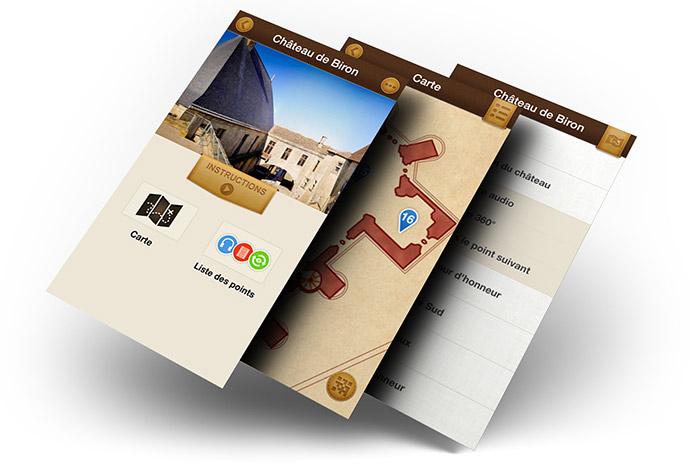 L'application smartphone de la Semitour, pour un tourisme numérique