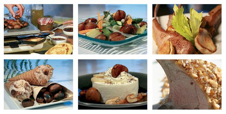 La châtaigne dans la cuisine : des idées de recettes à base de marrons sur le site officiel Marrons du Périgord