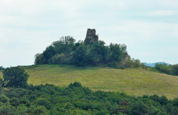 motte-castrale-carsac-de-gurson-ruines