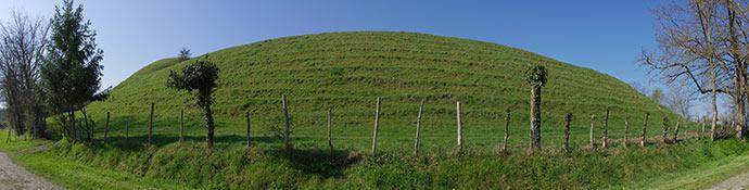 La Motte de Grésignac sur la commune de La Chapelle-Grésignac