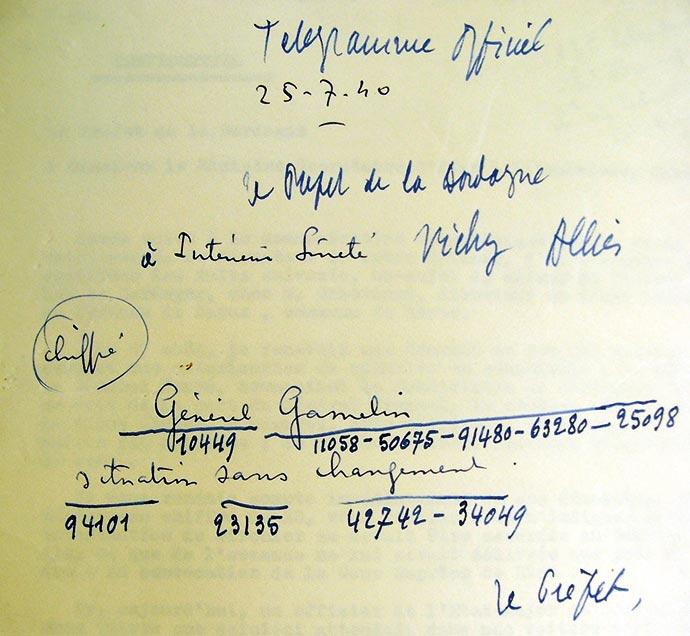 telegramme-chateau-bayac-general-gamelin