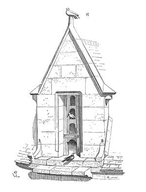 Dessin d'une lucarne – Eugène Violet-le-Duc