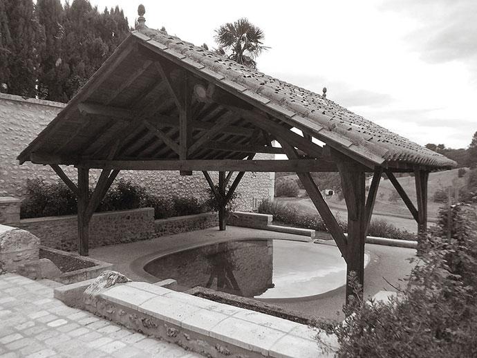 Histoire des lavoirs : celui de Siorac-de-Ribérac, Dordogne