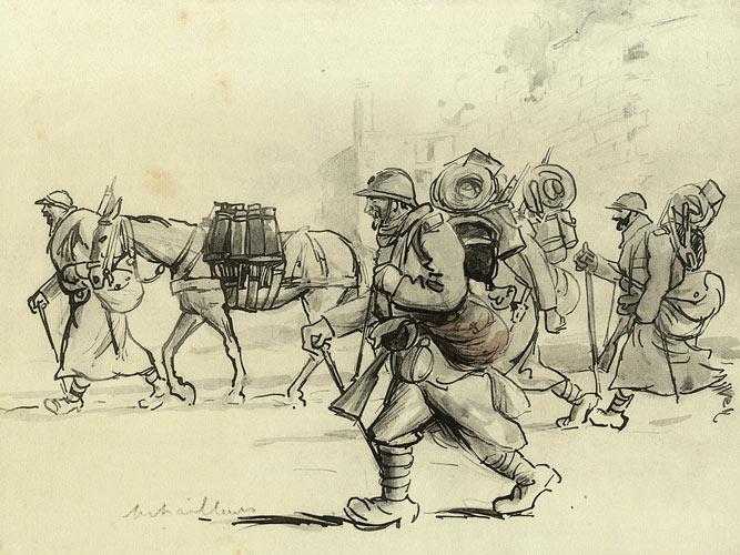 sem-caricaturiste-mitrailleurs-1915