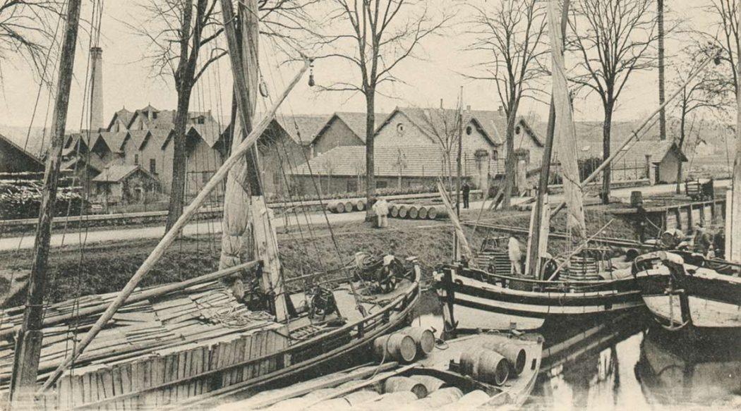 Le transport fluvial sur la Dordogne