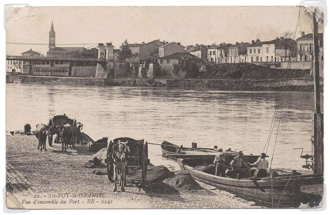 Les gens de la Rivière : des bateliers aux quais de Sainte-Foy-la-Grande – Cliquez pour agrandir