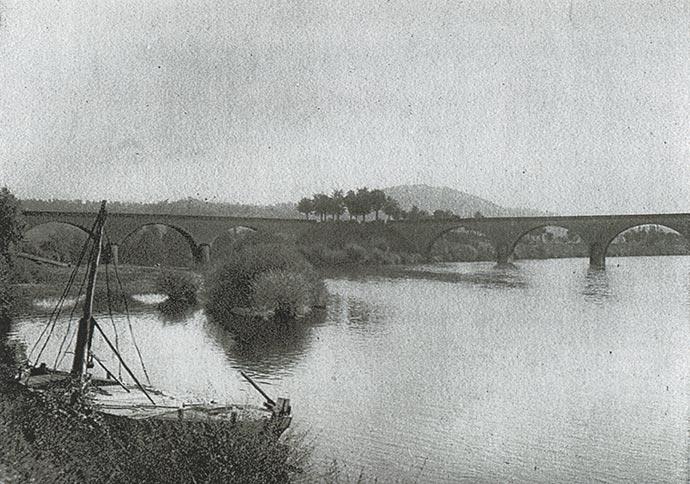 Limeuil, à la confluence de la Dordogne et de la Vézère