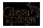 Logo officiel du Cabécou du Périgord, un fromage de chèvre protégé par une marque collective