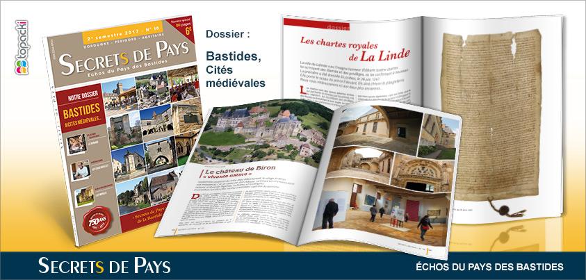 Le numéro 8 de «Secrets de Pays» et son dossier thématique «Places de Villages»…